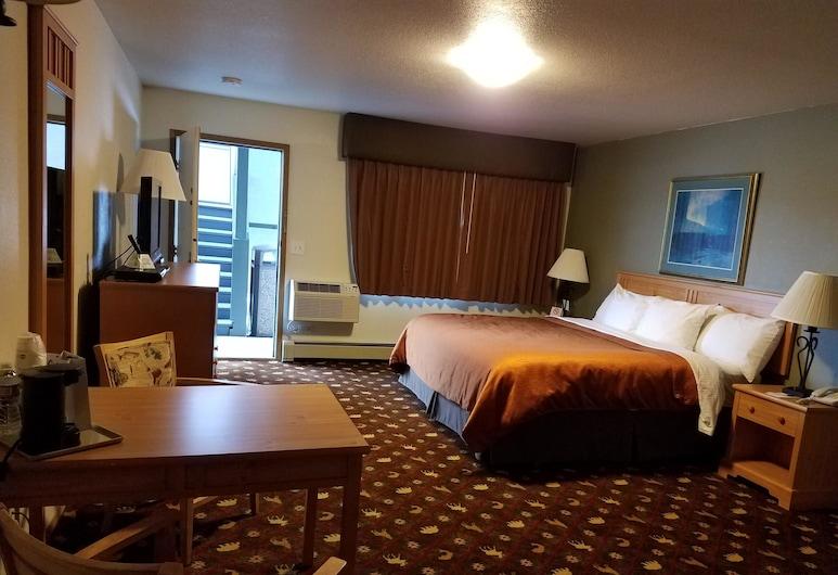 Best Western King Salmon Motel, Soldotna, Standard Oda, 1 En Büyük (King) Boy Yatak, Engellilere Uygun, Küvet, Oda