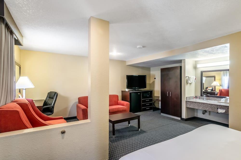 Suite 1 King bed - 客廳