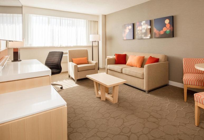 Delta Hotels by Marriott Beausejour, Moncton, Junior-sviitti, 2 keskisuurta parisänkyä, Tupakointi kielletty, Olohuone