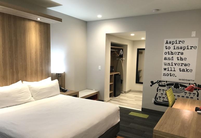 Rodeway Inn near Melrose Ave, Los Angeles, Rom – standard, 1 kingsize-seng, ikke-røyk, Gjesterom