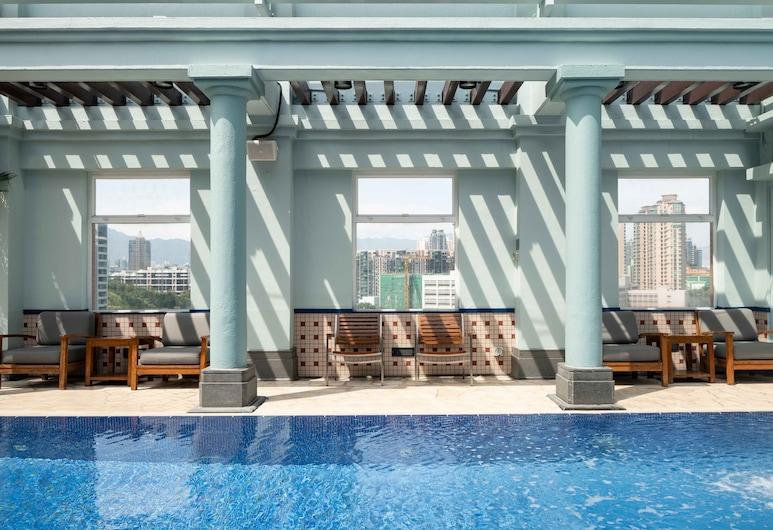 香港逸東酒店, 九龍, 天台泳池