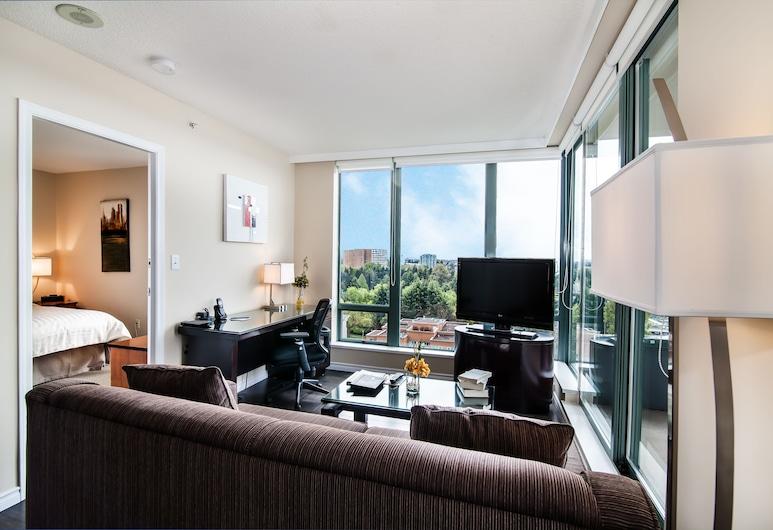 Executive Hotel Vancouver Airport, Richmond, Suite, Area soggiorno