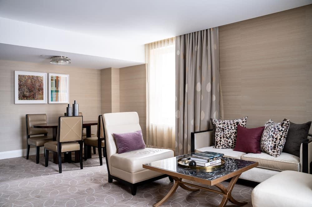 Darījumklases luksusa numurs, viena guļamistaba - Dzīvojamā istaba