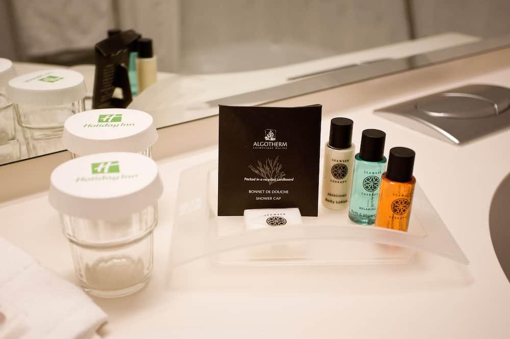 Pagerinto tipo kambarys - Vonios kambario patogumai