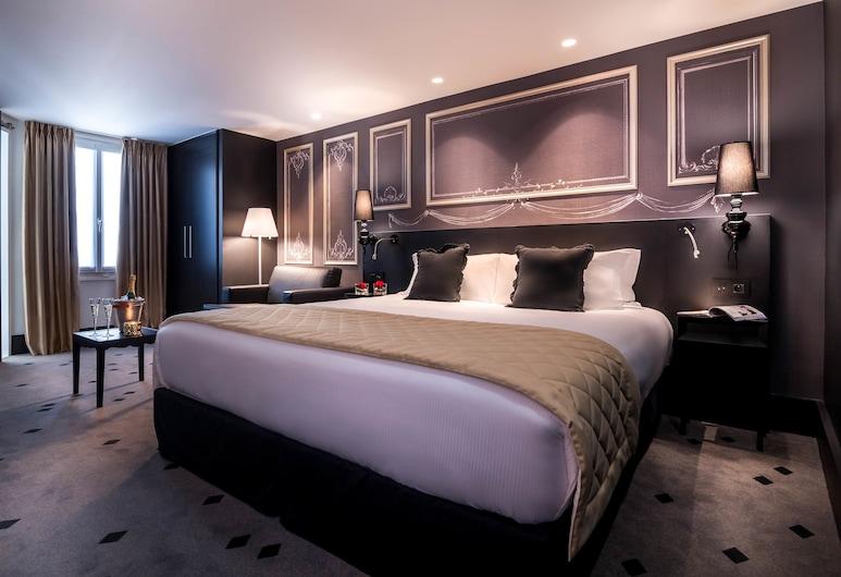 Hotel Beauchamps, Παρίσι, Deluxe Δωμάτιο, Δωμάτιο επισκεπτών