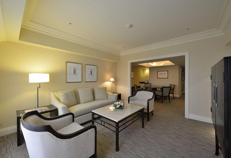 The Sherwood Taipei, Taipei, Suite Executiva, 1 cama king-size, Acessível, Vista Cidade, Área de Estar