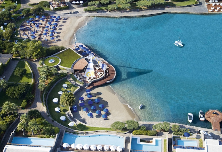 Elounda Bay Palace, a Member of the Leading Hotels of the World, Agios Nicólaos, Superior Bungalow Front Sea View sharing a  pool, Vue aérienne