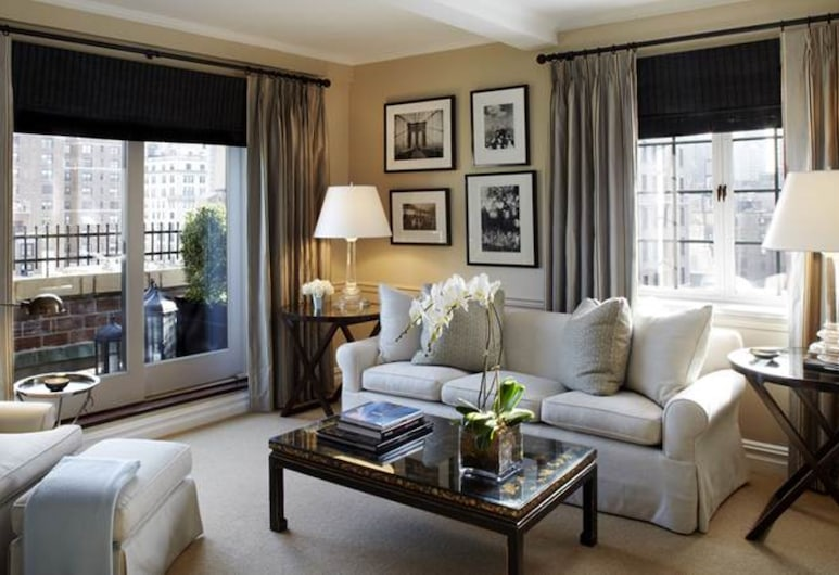 The Lowell, New York, Suite (Manhattan), Living Area