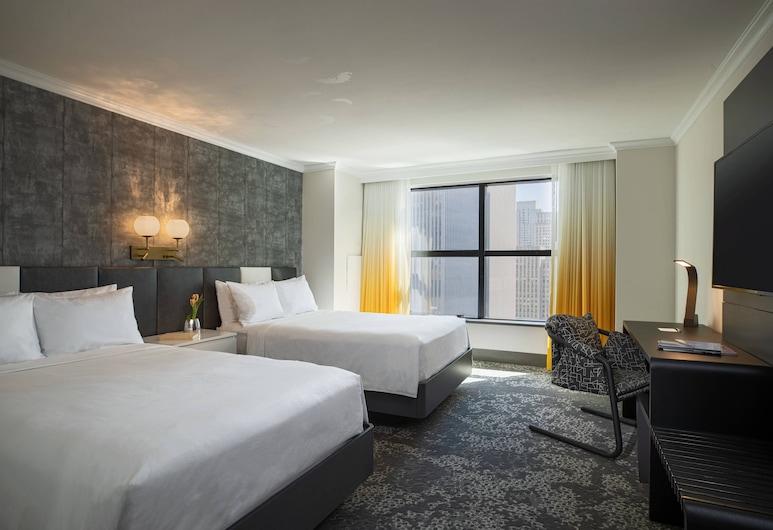 Renaissance New York Times Square Hotel, New York, Pokoj, 2 dvojlůžka, nekuřácký, Pokoj