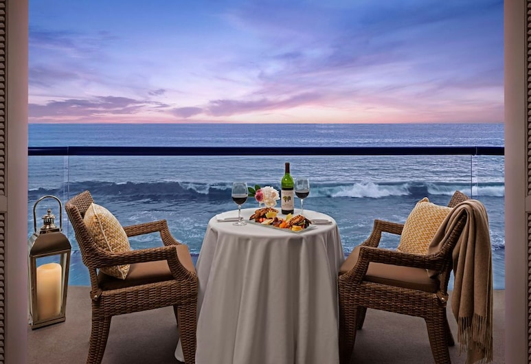 Surf And Sand Resort, Laguna Beach, Oceanfront Towers One King, Balcony