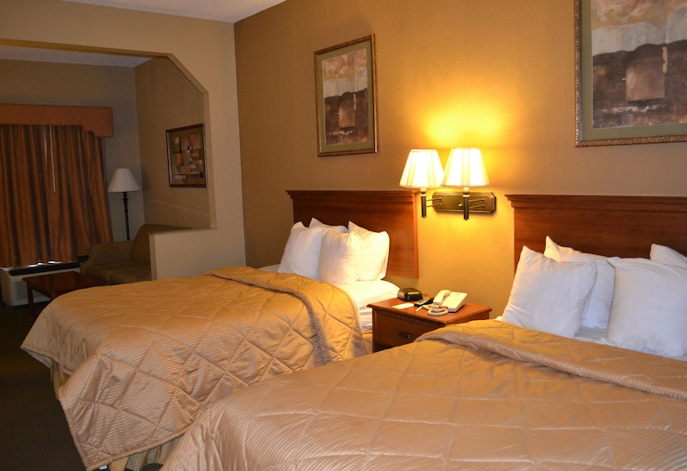 Homegate Inn and Suites, Мобайл, Двомісний номер «Делюкс», для курців, Вітальня