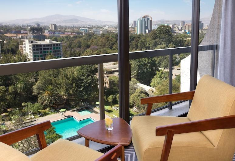 هيلتون أديس أبابا, أديس أبابا, جناح تنفيذي - سرير ملكي, غرفة نزلاء
