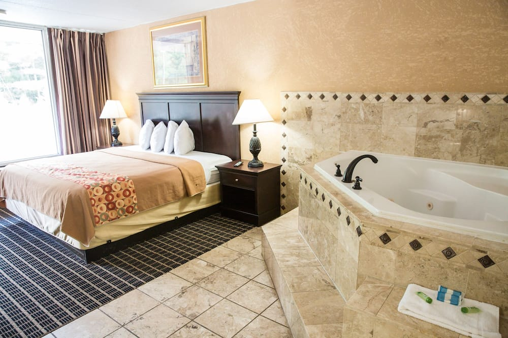 Phòng Suite Deluxe, 1 giường cỡ king, Bồn tắm thủy lực - Phòng