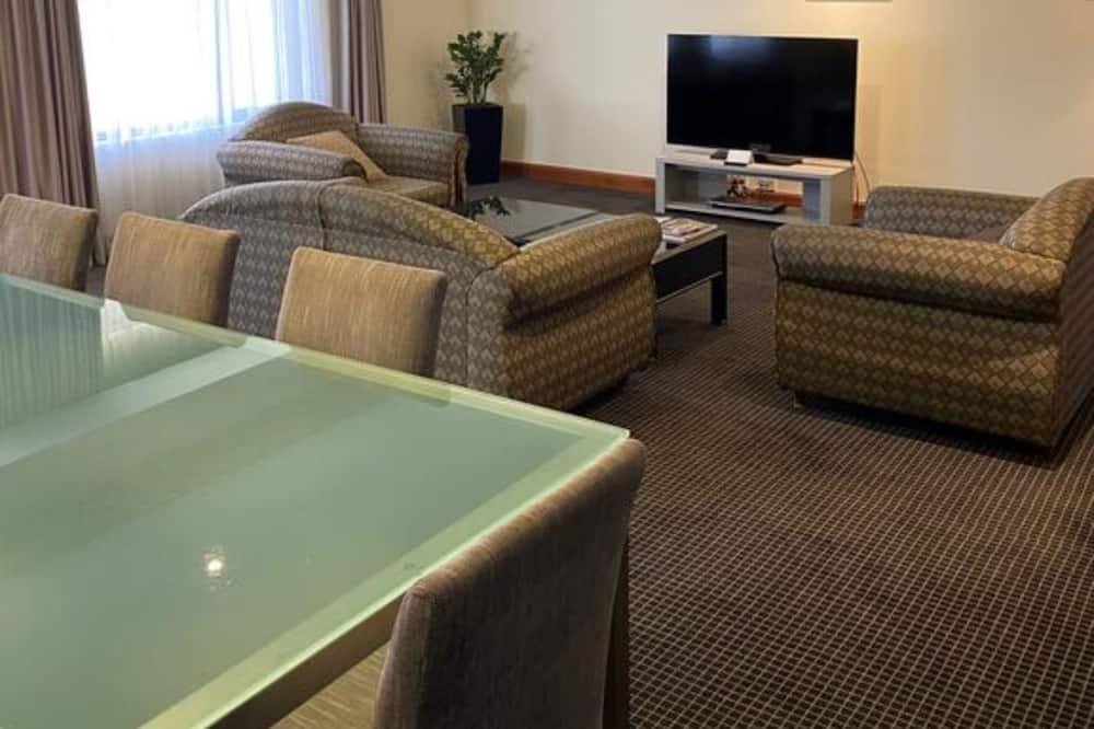 Suite, 1King-Bett - Wohnbereich