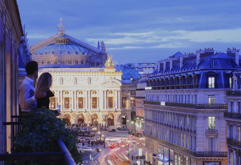 Hôtel Edouard 7 Paris Opéra, Pariz, Deluxe soba, balkon, pogled na grad, Soba za goste