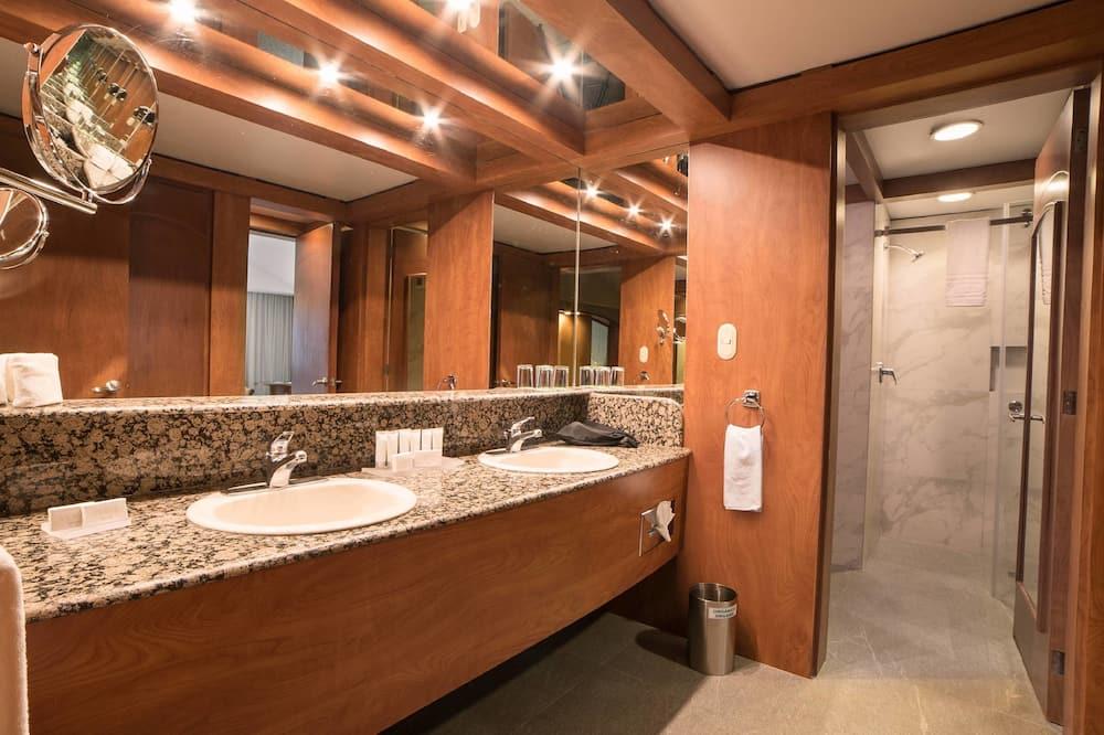 套房, 2 间卧室, 无烟房 - 浴室