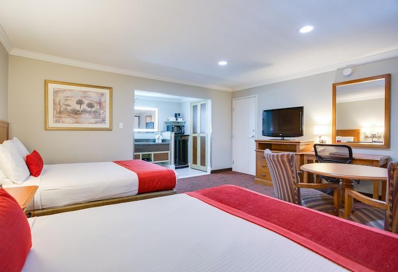 Del Sol Inn - Anaheim Resort, Anaheim, Camera Deluxe, 2 letti queen, Camera