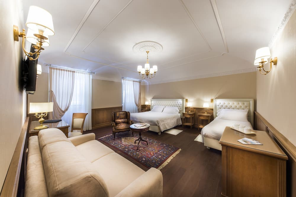 Suite, 1King-Bett, Balkon - Zimmer