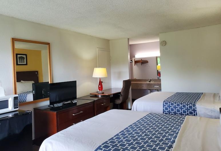 Econo Inn, Ormond Beach, Standard Room, 2 Queen Beds, Non-Smoking, Pokoj