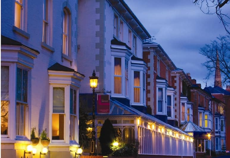 The Belmont Hotel, Leicester, Teras/Veranda