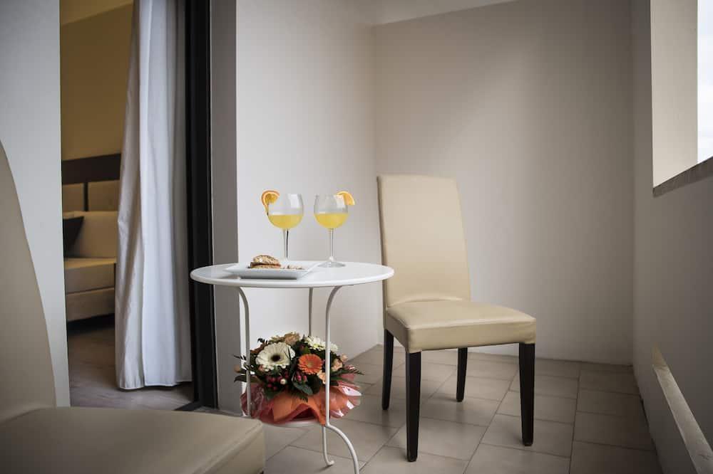 Superior-Doppelzimmer zur Einzelnutzung - Balkon