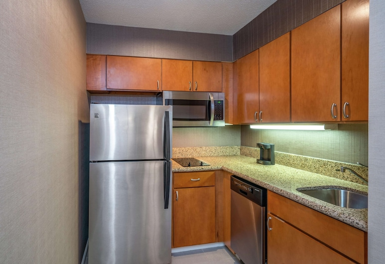 Homewood Suites by Hilton Lafayette Rossville Exit, Lafayette, Suite, 1 King Bed, Non Smoking, Fireplace, In-Room Kitchen