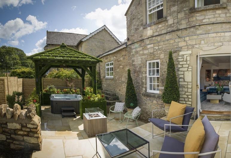 Homewood Hotel and Spa, Bath, Deluxe Garden Suite (With Hot Tub), Terase/iekšējais pagalms