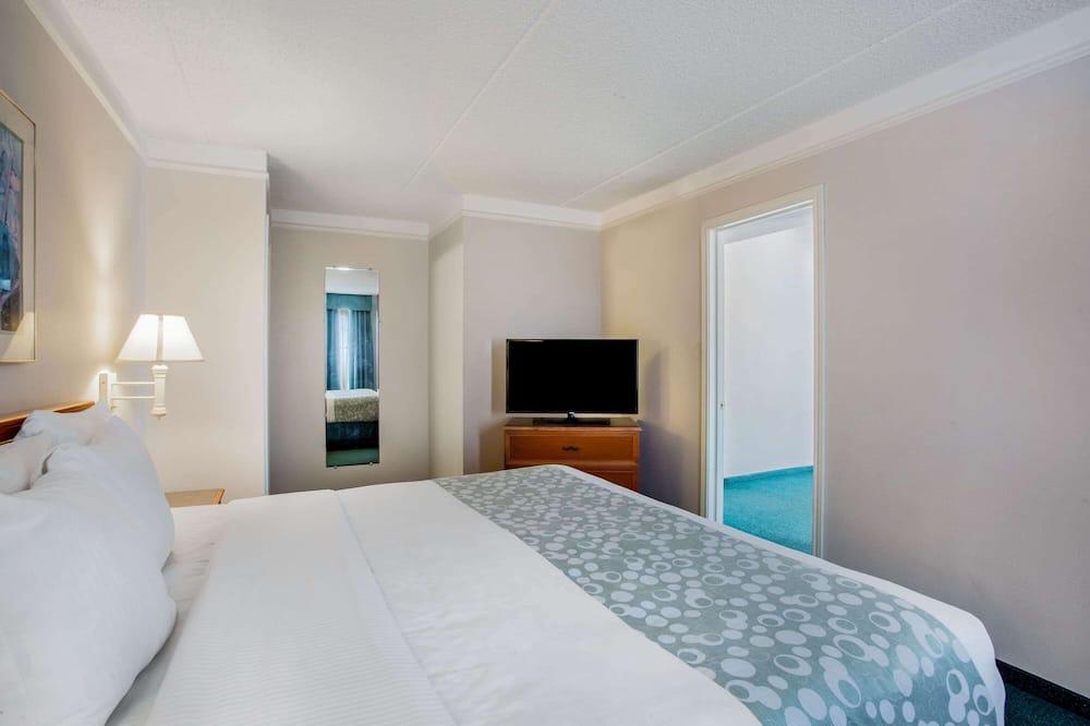 Apartmá typu Deluxe, dvojlůžko (200 cm), nekuřácký (Deluxe Family Suite) - Pokoj