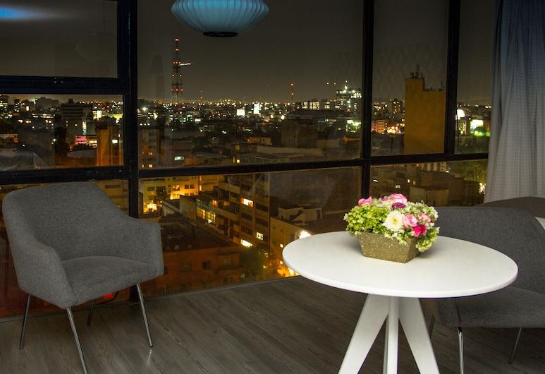 Hotel El Ejecutivo by Reforma Avenue, Mexico City, Deluxe Double Room, 2 Double Beds, Guest Room