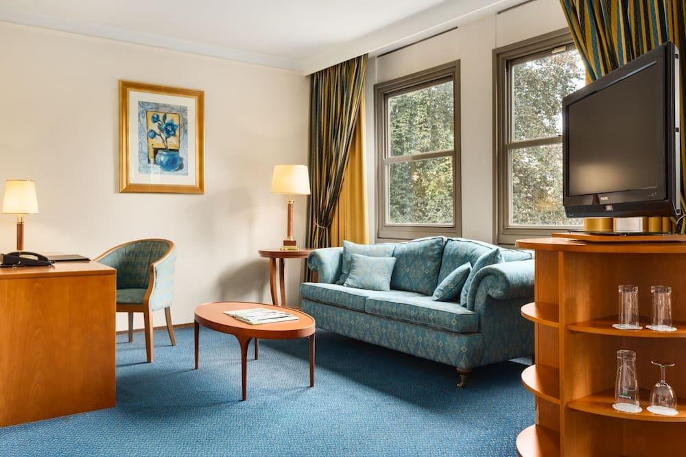 Junior-Suite, 1Einzelbett - Wohnbereich