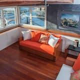 Apartament luksusowy, widok na kanał - Powierzchnia mieszkalna