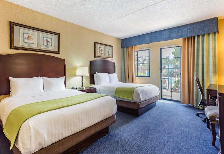 梅薩鳳凰城附近溫德姆戴斯酒店, 購物城, 標準客房, 2 張加大雙人床, 客房
