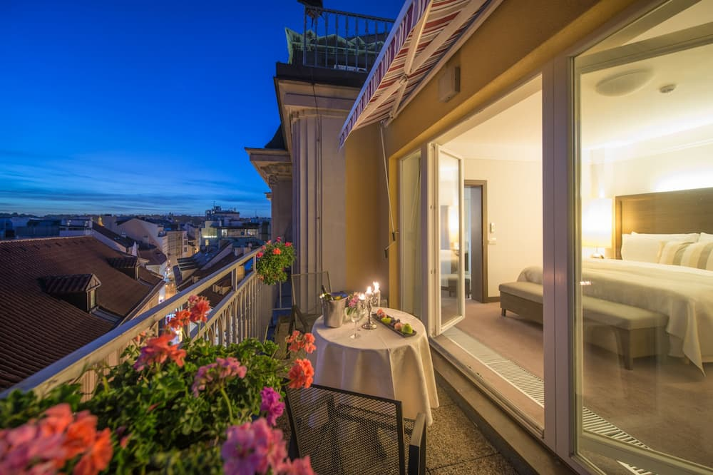 Süit, Balkon - Balkon