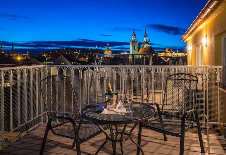 Grand Hotel Bohemia, Prag, Exclusive Süit, Teras, Teras/Veranda