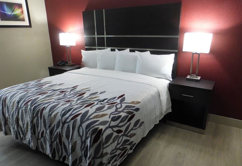 Red Roof Inn Redding, Redding, Superior Room, 1 King Bed (Smoke Free), Guest Room