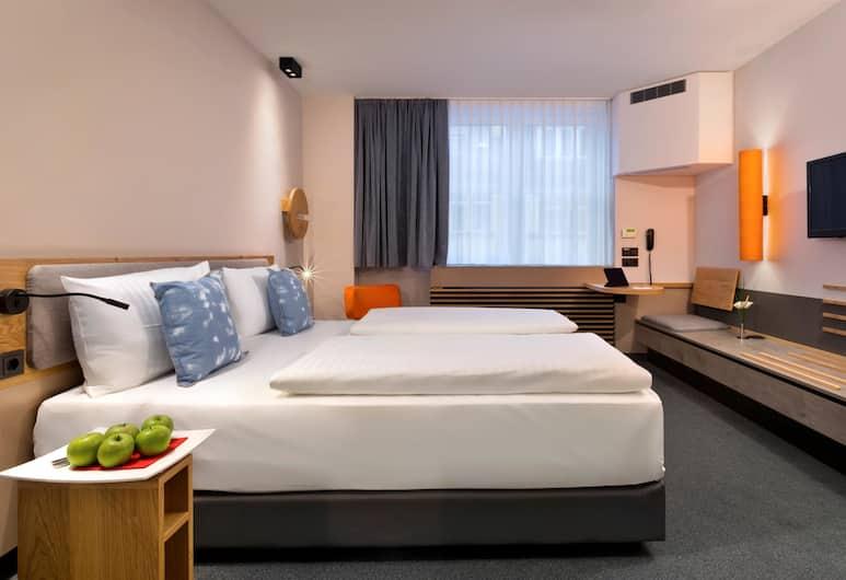 플레밍스 익스프레스 호텔 프랑크푸르트(구 인터시티 호텔 프랑크푸르트), 프랑크푸르트, 이그제큐티브 더블룸, 객실