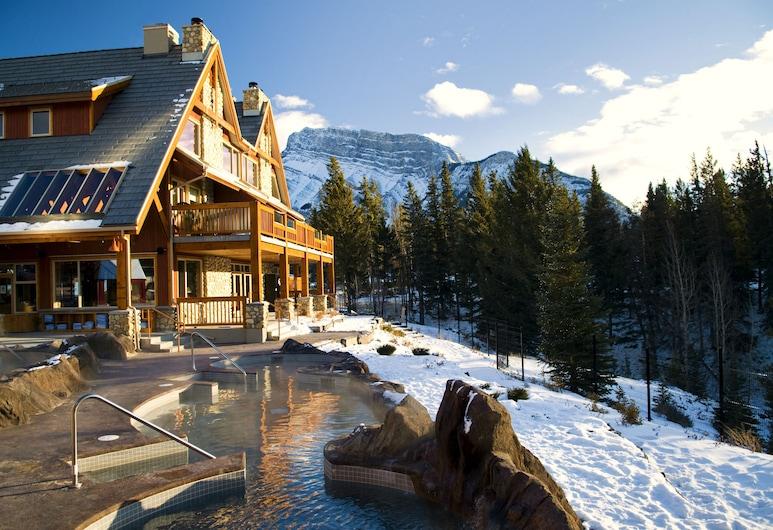 Hidden Ridge Resort, Banfas, Terasa / vidinis kiemas