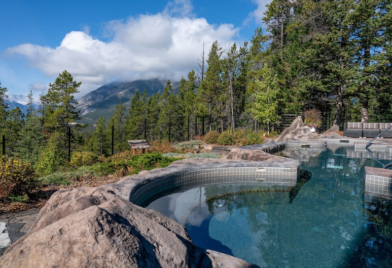 Hidden Ridge Resort, Banff, Wanna spa na zewnątrz