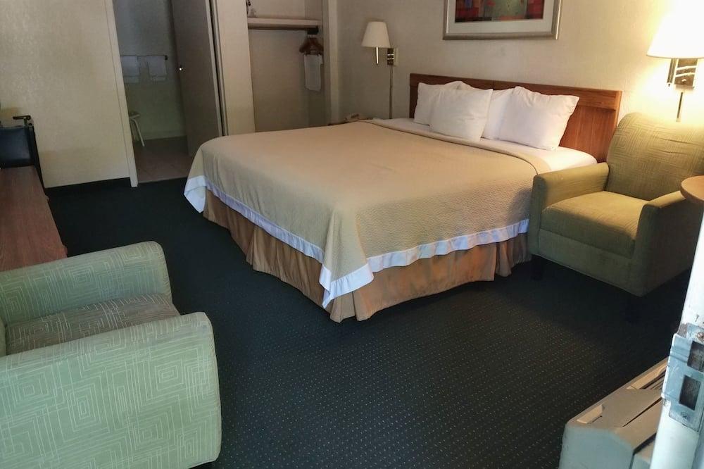 ห้องพัก, เตียงคิงไซส์ 1 เตียง, ปลอดบุหรี่, ริมสระว่ายน้ำ - วิวหุบเขา
