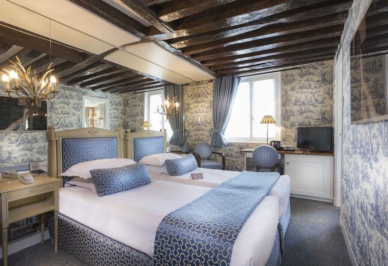 第九聖日爾曼酒店, 巴黎, 高級雙床房, 客房