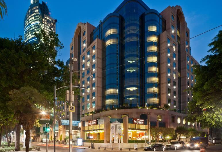 Marquis Reforma Hotel Spa, Ciudad de México, Fachada del hotel de noche