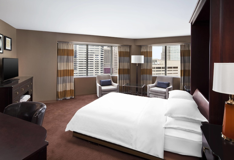 Sheraton Inner Harbor Hotel, Baltimore, Room, 1 Queen Bed, Non Smoking, City View, Guest Room