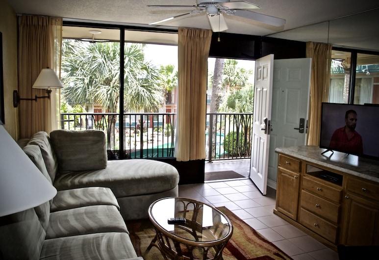 神奇之樹套房飯店, 基西米, 套房, 2 間臥室, 客廳