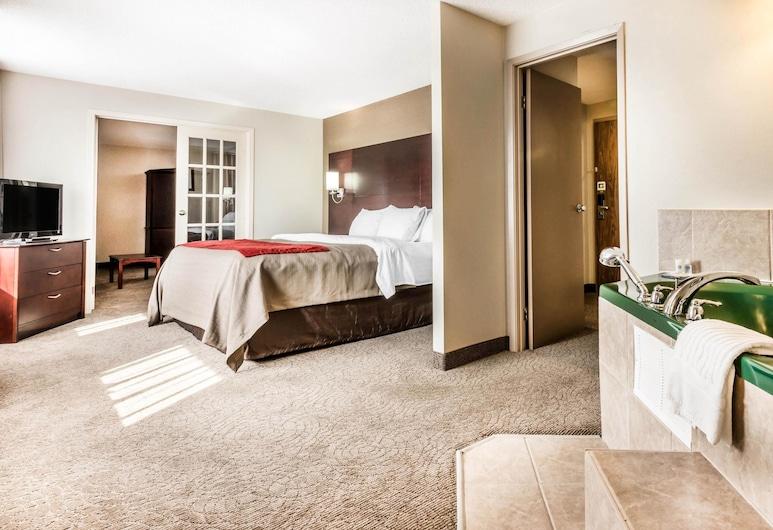 Comfort Inn And Suites, Barrie, Chambre, 1 très grand lit et 1 canapé-lit, non-fumeurs, Chambre