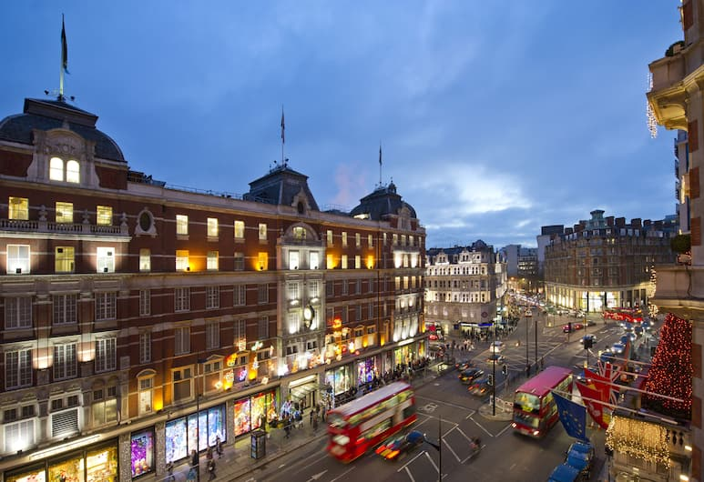 Mandarin Oriental Hyde Park, London, London, Hotel Front – Evening/Night