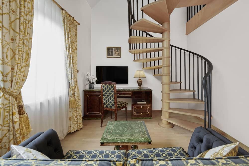 Signature-Doppelzimmer - Wohnbereich