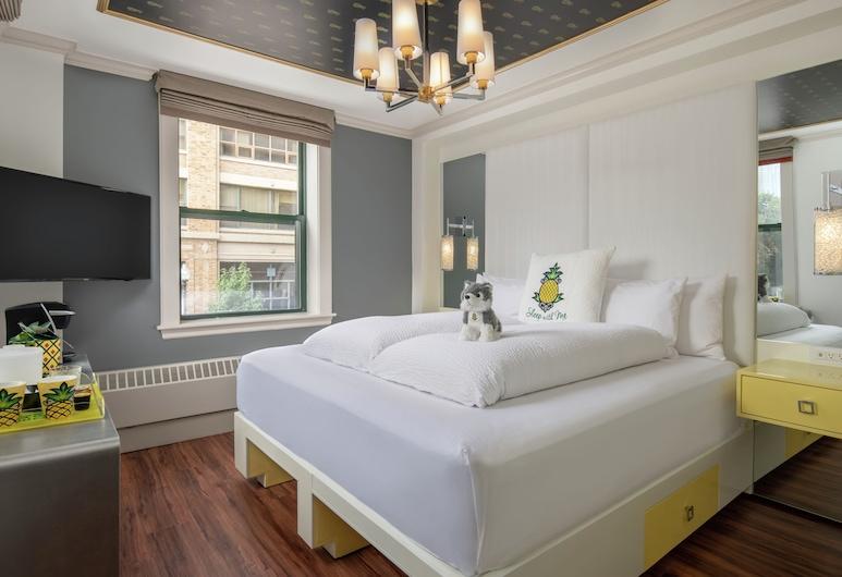 Staypineapple, A Delightful Hotel, South End , Boston, Pokoj, dvojlůžko (200 cm), rohový pokoj, Pokoj