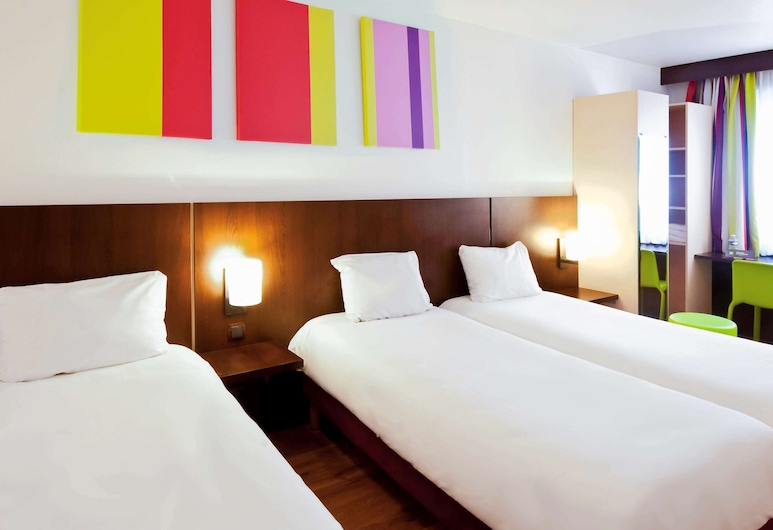 ibis Styles Luxembourg Centre Gare, Luxembourg City, Guest Room