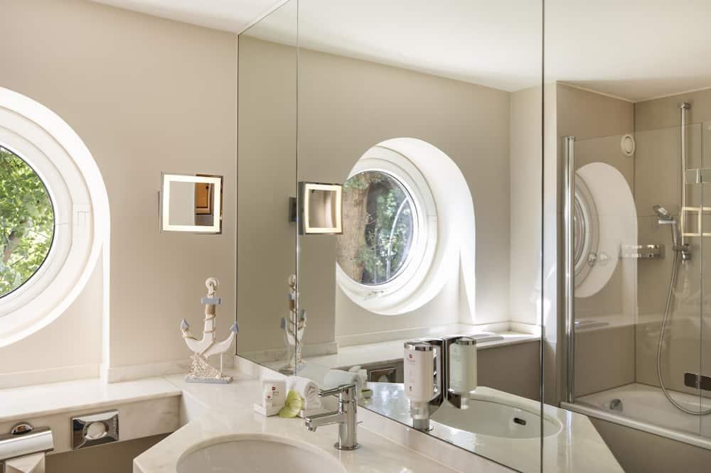 行政客房, 1 張標準雙人床 - 浴室