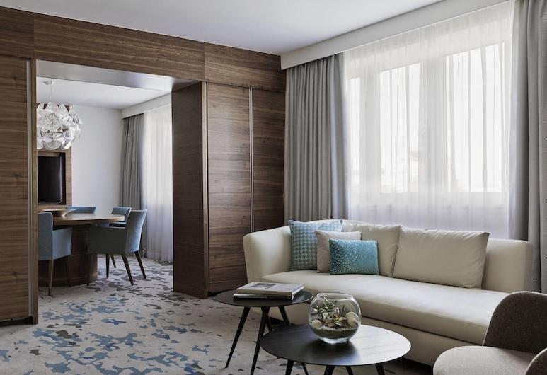Vienna Marriott Hotel, Wien, Club-Suite, 1 Schlafzimmer, Nichtraucher, Zimmer